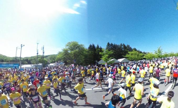 「軽井沢ハーフマラソン2016」の画像