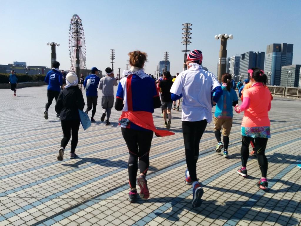 「「東京マラソンフレンドシップラン2016」大会レポート」の画像