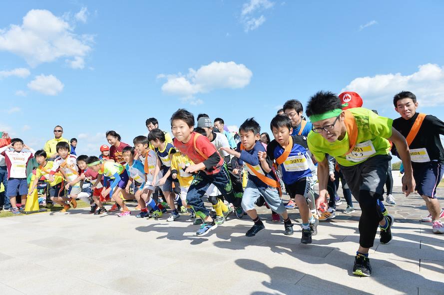 「PARACUP SENDAI 2016 リレーマラソン at 千年希望の丘」の画像