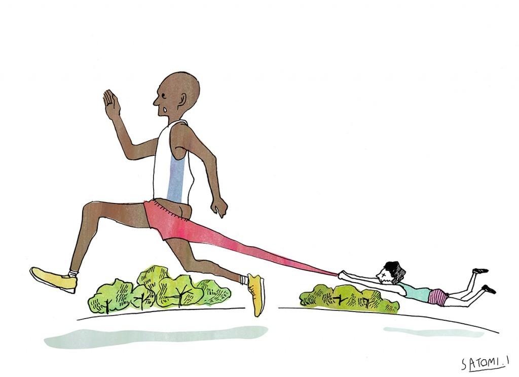 「【ランナーあるある】自分のタイムをみて改めて感じる「アフリカ勢」の凄さ!!」の画像