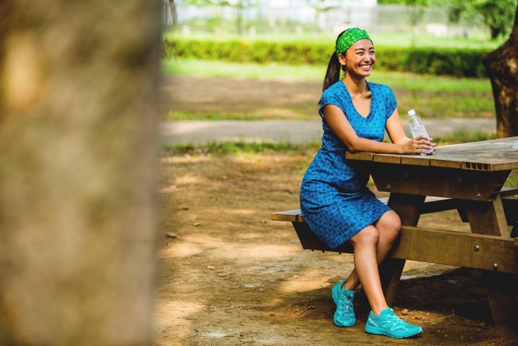 「大人女性が似合う?「L.L.Bean」を活用したランニングコーデをご紹介」の画像