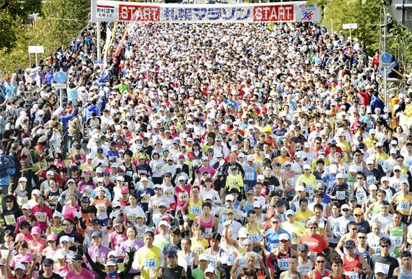 「市民マラソンでは北日本最大規模! 第41回札幌マラソン」の画像