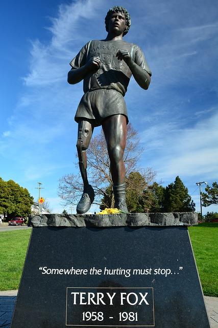 """「「ランニングでカナダ横断」を目指した""""義足の少年""""を想うランニングイベント」の画像"""