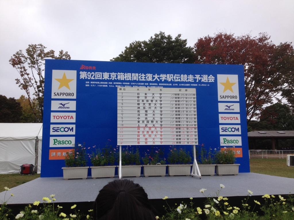 「「500人以上のランナーが地鳴りをたてて向かって来る」圧巻の光景~箱根駅伝予選会10月15日スタート」の画像