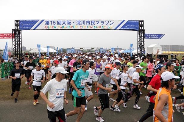 「普段は通れない「淀川大堰」を走って渡れる大会とは!? 第20回 大阪・淀川市民マラソン」の画像