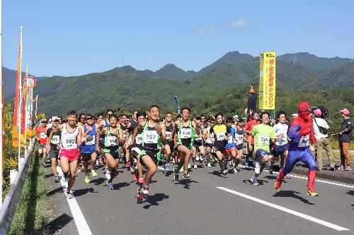 「日本最大級の照葉樹林帯を駆け抜けよう! 第30回綾・照葉樹林マラソン」の画像