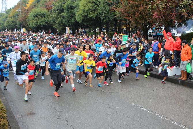 「直線が多いフラットなコース設定が特徴 「第30回宇都宮マラソン大会」」の画像