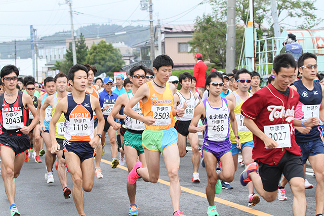 「名物「かき汁」が疲れた身体を温めてくれる! 第40回松島ハーフマラソン大会」の画像