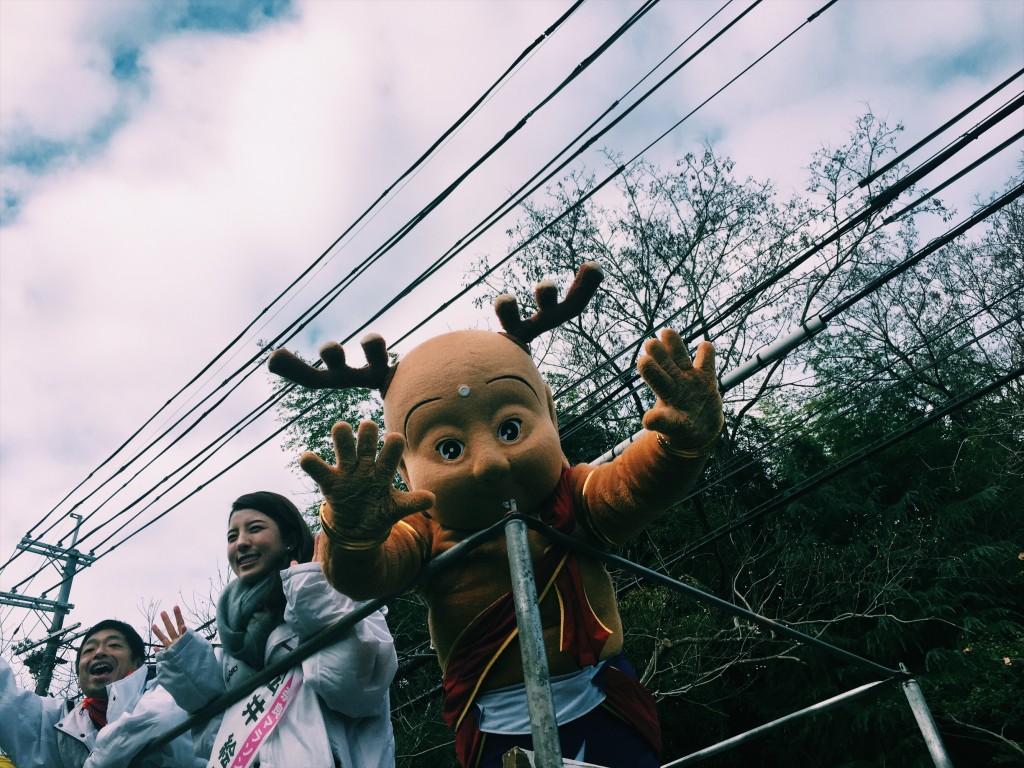 「奈良のゆるキャラ「せんとくん」にライバル!? 奈良マラソンに参加して確かめてきた」の画像