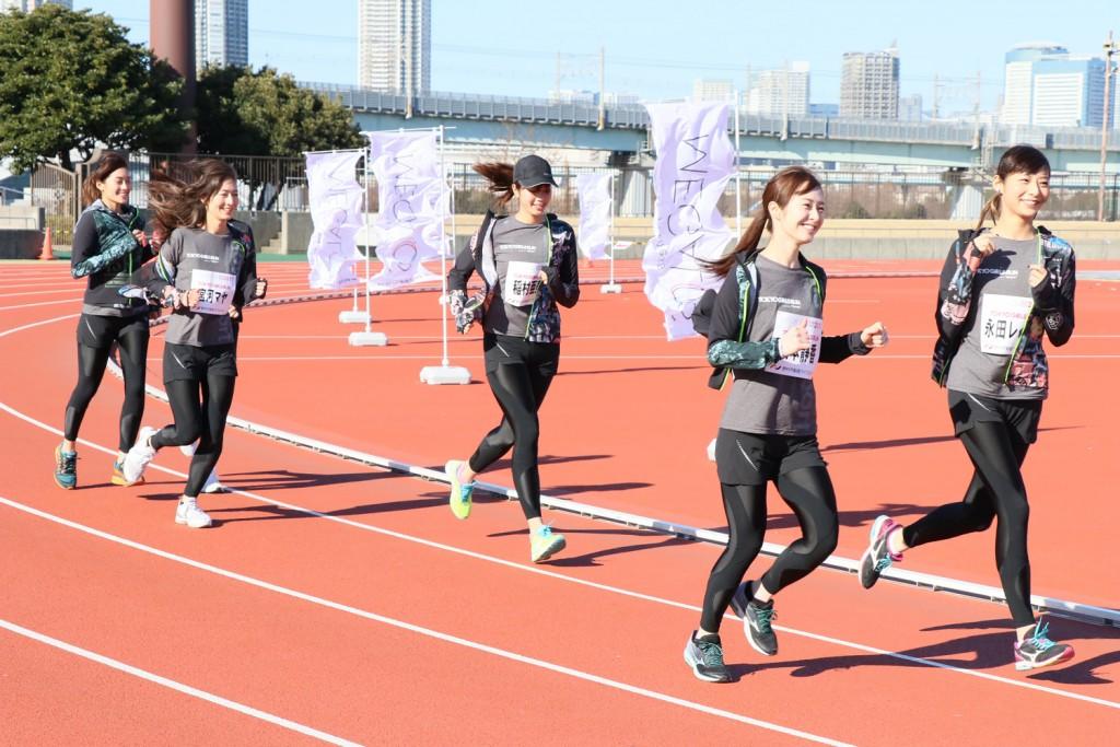 「皇居ランや峠走も!! 稲村亜美さんら所属の「TOKYO GIRLS RUN」が本気出してる件」の画像