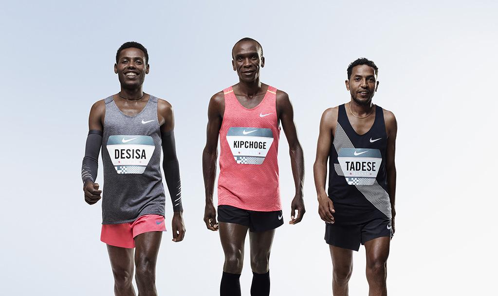 「5月6日12時45分にマラソンの歴史が変わる!? ナイキ「BREAKING2」プロジェクトがレース本番へ」の画像