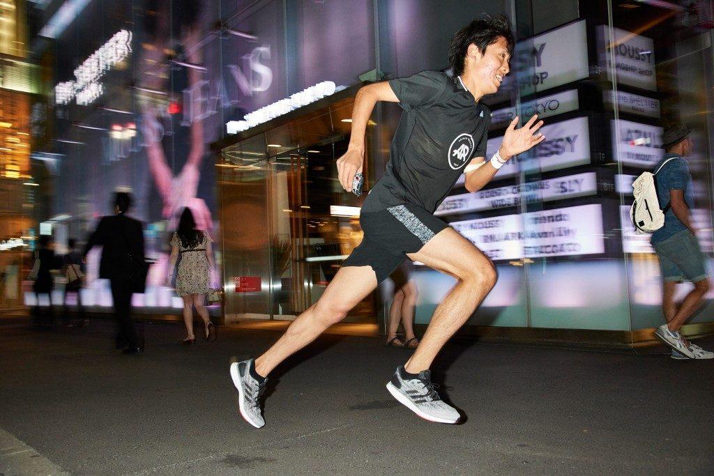 「原宿、表参道、渋谷を走った「adidas Running 3on3」って何?」の画像