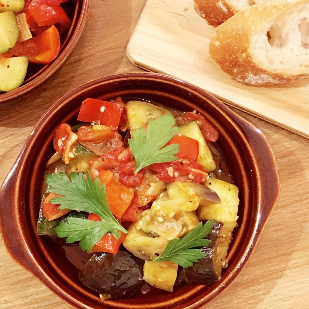 「管理栄養士が考えるランナーメシ! 旬の野菜たっぷり!【ラタトゥイユ】の簡単レシピ」の画像