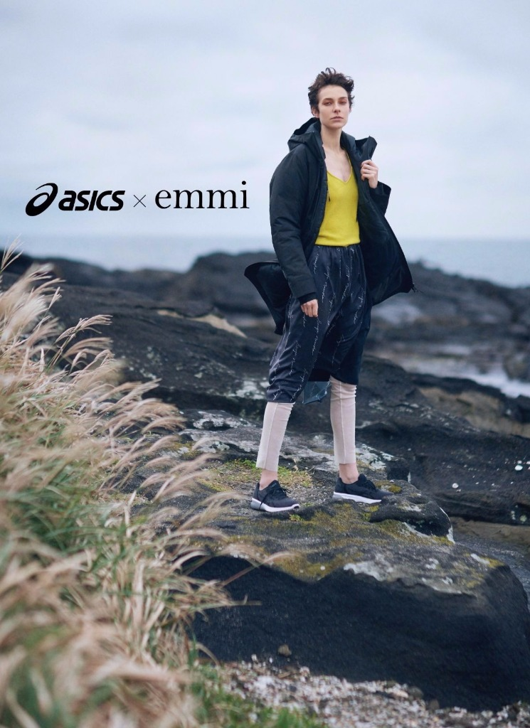 「オシャレ女子必見!「emmi(エミ)」と「ASICS(アシックス)」のExclusiveコラボレーションウェア第二弾が発売!」の画像