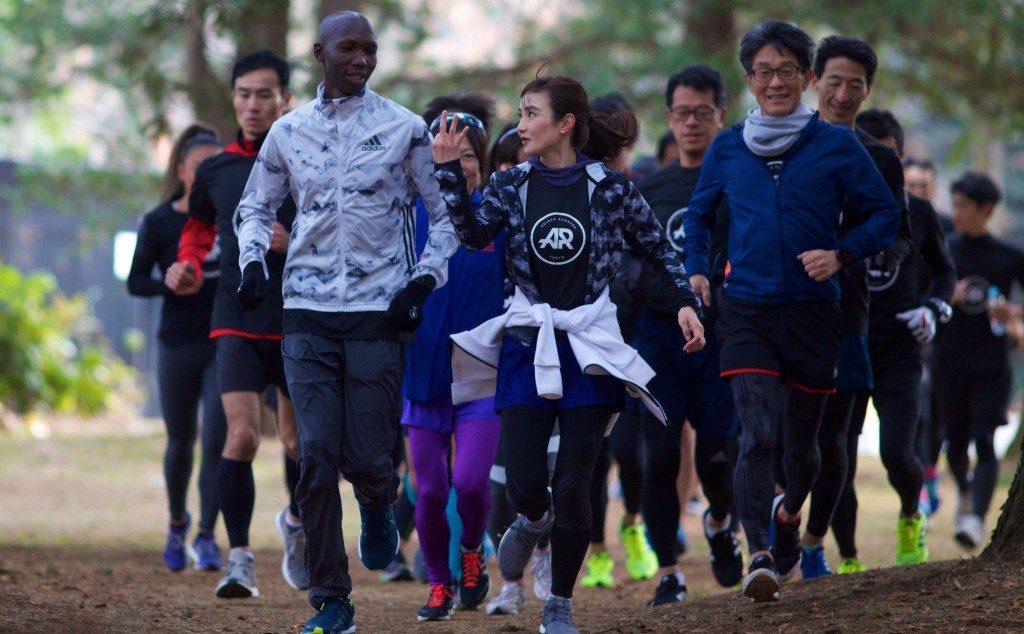 「キプサング選手+青学駅伝メンバー+市民ランナーで展開「adizero SPEED SUMMIT 2018」」の画像