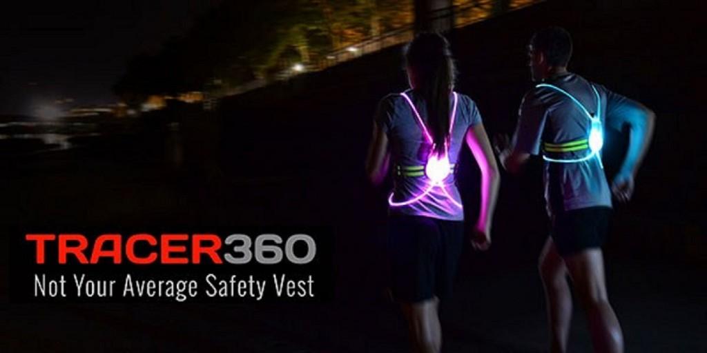 「ナイトラン・サイクリングの新しい価値の提供「Tracer360」」の画像